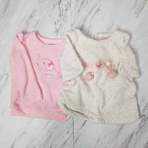 Piper and Posie and Carter's Sweaters, 12 Months